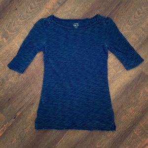 JCrew painter T-shirt indigo